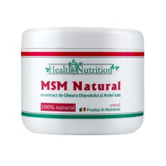 MSM Natural Crema - 200 ML Health Nutrition