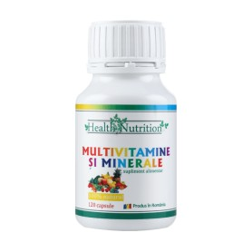 Multivitamine si Minerale - 120 capsule Health Nutrition