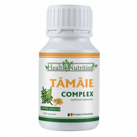 Extract de Tamaie - 120 capsule Health Nutrition