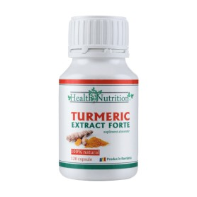 Turmeric Extract Forte 100% natural - 120 capsule Health Nutrition