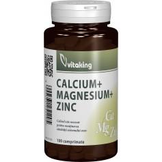 CALCIU-MAGNEZIU CU ZINC - 100 COMPRIMATE