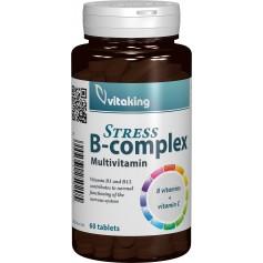 STRESS B-COMPLEX - 60 COMPRIMATE