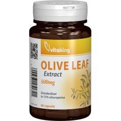 Extract Strandardizat din Frunze de Maslin (Olive Leaf) 500mg, 60cps