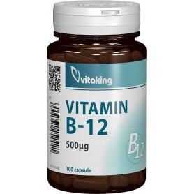 VITAMINA B12 (CIANOCOBALAMINA) 500 MCG - 100 CAPSULE