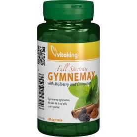 GYMNEMAX (GYMNEMA SYLVESTRE, FRUNZE DE DUD ALB, SCORTISOARA) - 60 CAPSULE