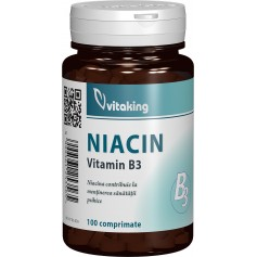 VITAMINA B3 (NIACINA) 100MG - 100 COMPRIMATE