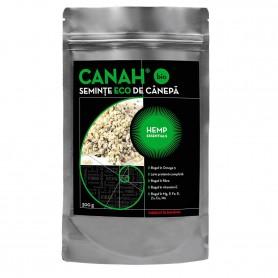 SEMINTE DECORTICATE BIO DIN CANEPA 300G CANAH