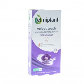 Benzi depilatoare fata Velvet Touch Silk Sensation Elmiplant