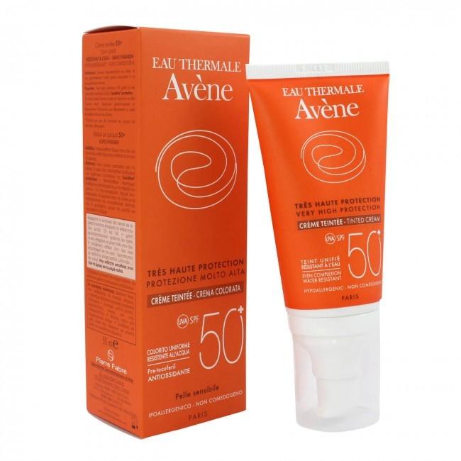 Crema Nuantatoare cu SPF 50+ - 50 ML Avene