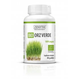 Pulbere de Orz Verde Bio - 80 g Zenyth