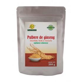 Pulbere din Radacina de Ginseng - 200 g Phyto Biocare
