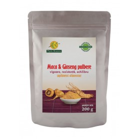 Pulbere de Maca si Ginseng - 200 g Phyto Biocare