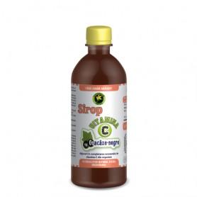 Sirop cu Vitamina C si Coacaze Negre fara Zahar Hypericum - 500 ML