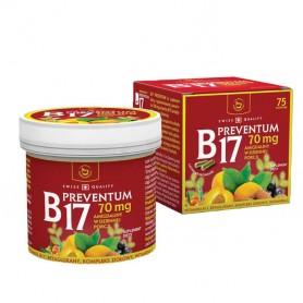 Vitamina B17 Preventum Naturali Prod - 75 capsule