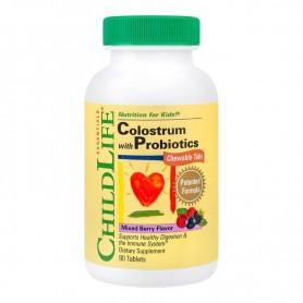 Colostrum cu Probiotice, Secom - 90 tablete