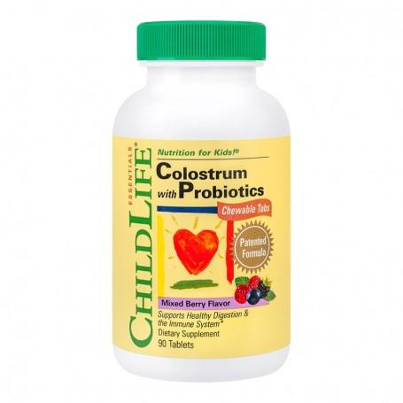 Colostrum cu Probiotice Secom - 90 tablete
