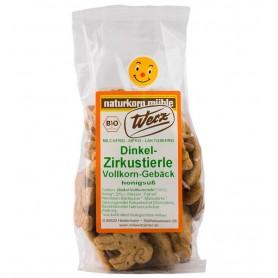 Biscuiti Bio Zoo din Alac cu Miere Werz - 125 g