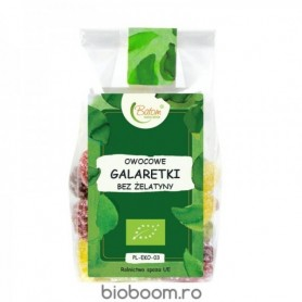 Jeleuri din Fructe Bio 125g