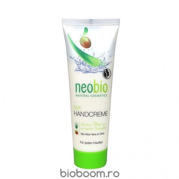 Crema de Maini BIO cu Aloe Vera si Ulei de Masline 75 ml