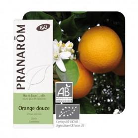 Ulei Esential Pur de Portocala Dulce Bio (Citrus sinensis) - 10 ML