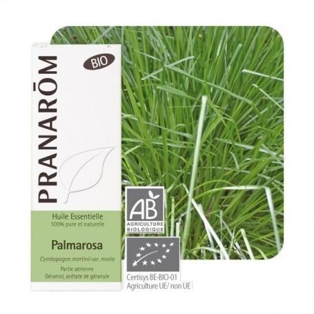 Ulei Esential de Palmarosa Bio (Cymbopogon Martinii) - 10 ML