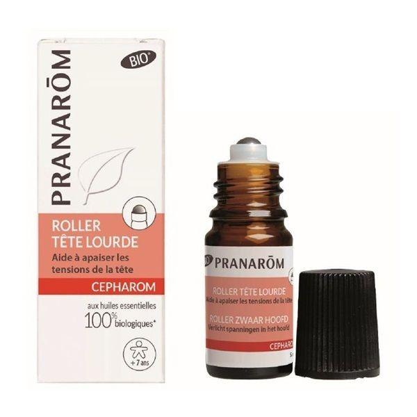 Roll-On Uleiuri Esentiale pentru Migrene, Bio, 5 ml
