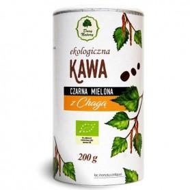 Cafea Neagra Macinata cu Chaga Bio 200g