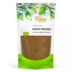 Cacao Pudra Raw Bio Low Fat 250g