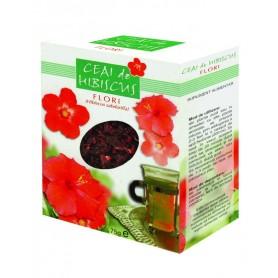 Ceai de Hibiscus, Frunze, 75 g Parapharm