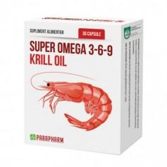 Krill Oil, Super Omega 3-6-9, 30 cps