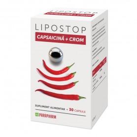 Lipostop Capsaicina+Crom 30 capsule