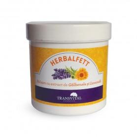 Herbalfett - Balsam cu extract de Galbenele si Lavanda