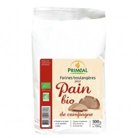 Amestec organic pentru paine de tara, 500 g