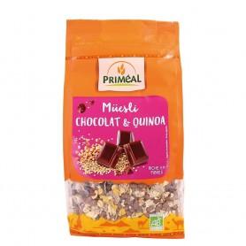 Musli bio cu quinoa si ciocolata 350g
