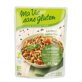 Cereale si leguminoase - fara gluten gata preparat 220g
