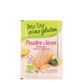 Praf de copt bio - fara gluten, fara amidon de porumb 4x10g
