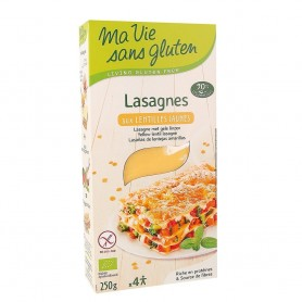 Lasagna din linte galbena fara gluten 250g
