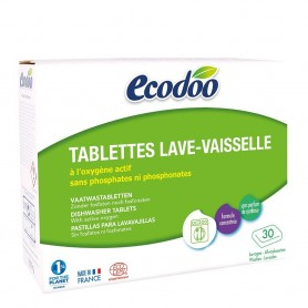 Tablete pentru masina de spalat vase - 30x20g certificate Bio