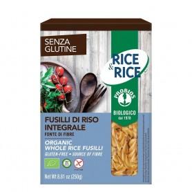 Fusilli de orez integral - fara gluten 250g