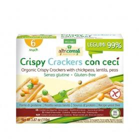 Crackersi crocanti din faina de leguminoase - fara gluten 150g