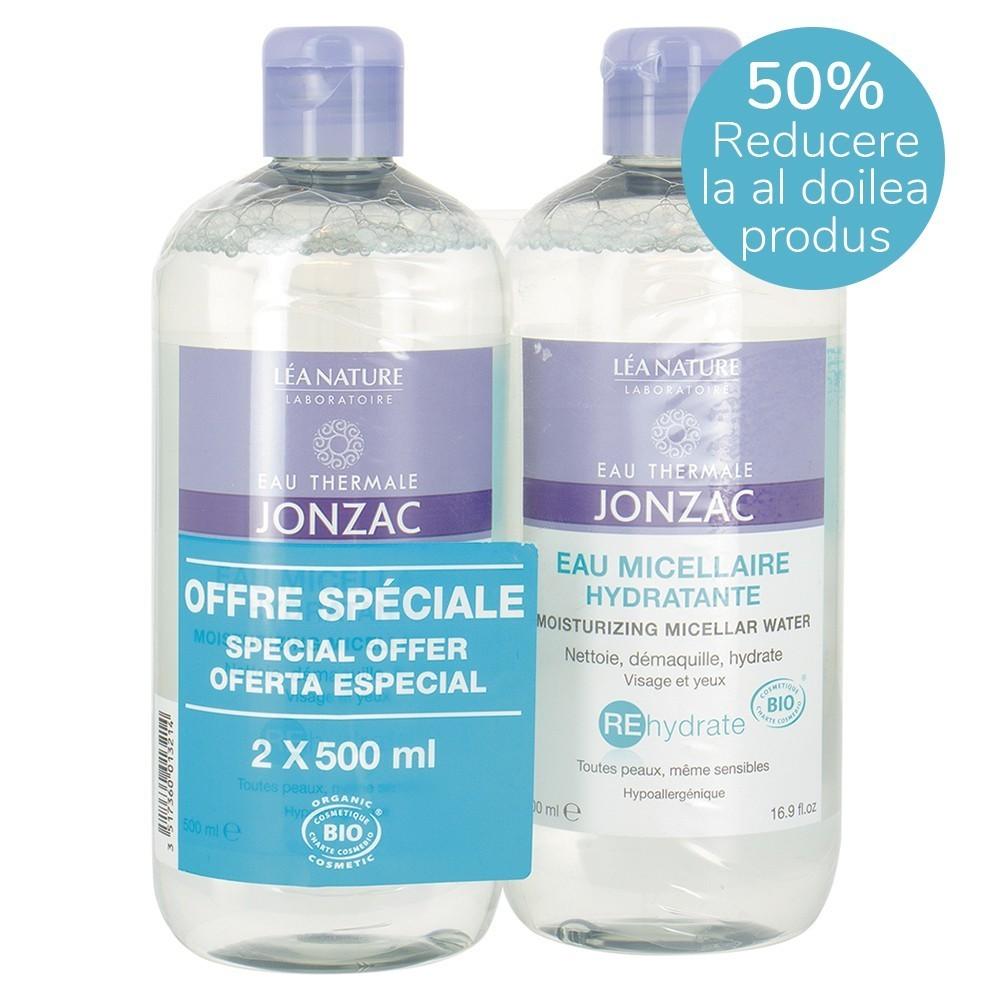 Rehydrate - Apa micelara hidratanta - Oferta speciala 2x500ml