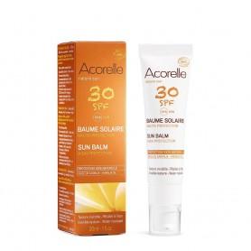 Balsam protectie solara fata cu ulei de Karanja SPF 30 30ml