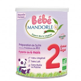 Formula 2 Lapte praf vegetal pentru bebelusi - de la 6 luni - 800 g