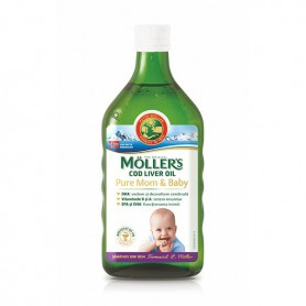 Ulei de Ficat de Cod Moller's Mom&Baby -250 ML Orkla Health