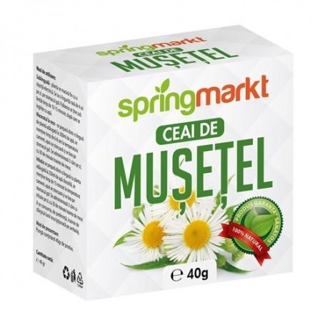 Ceai de Musetel Flori, 40g Springmarkt