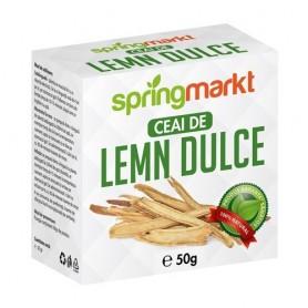Ceai Lemn Dulce Radacina 50gr springmarkt