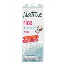 Lapte vegetal din Orez cu Cocos 1l Natrue
