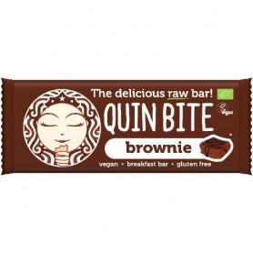 Baton Organic cu Ciocolata Quin Bite 30gr