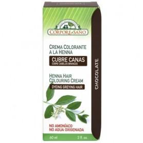 Crema Henna Semipermanenta Ciocolatiu 60ml Corpore Sano