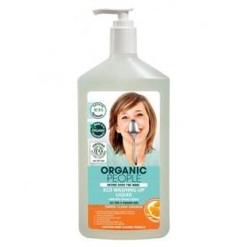 Detergent ecologic pentru vase cu Portocala 500ml Organic People